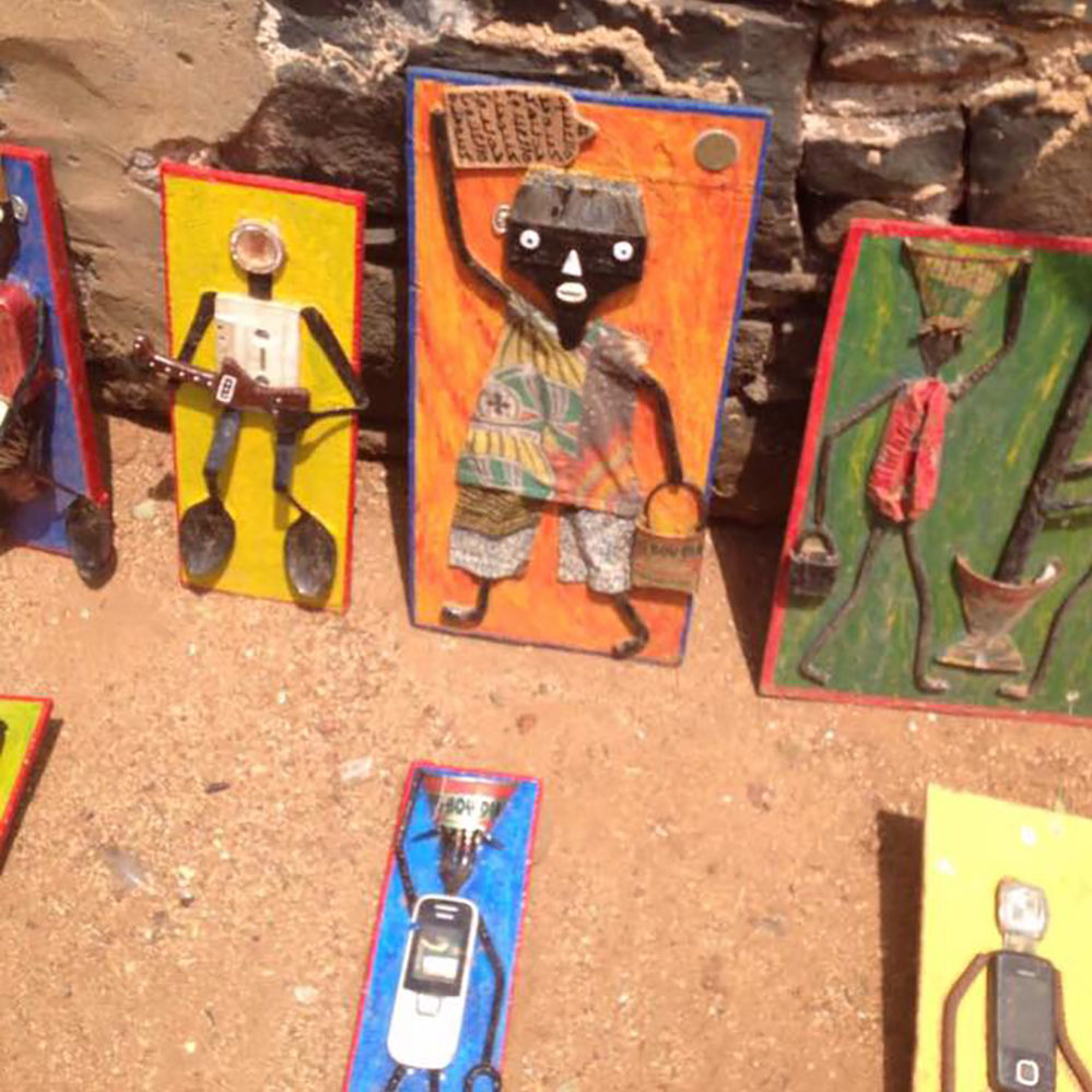 Museo del Mundo de visita en Senegal