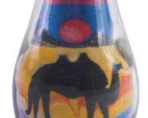 Botella con arena #415