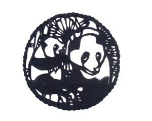 Escena de pandas #407