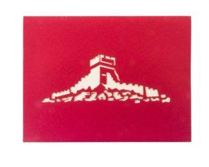 Tarjeta con la muralla china #409
