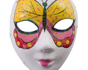 Máscara de mujer #413