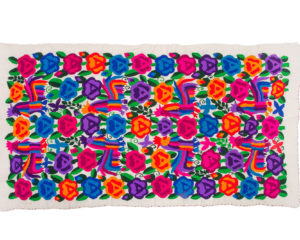 Textil bordado #195