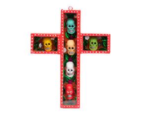 Retablo de cruz #177