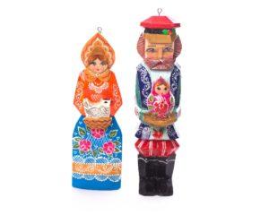 Conjunto familia tradicional Rusa  #299