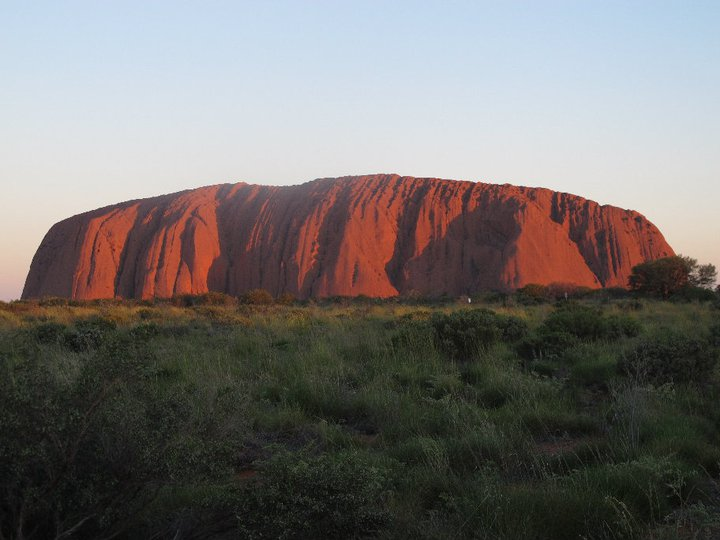 """Uluru"", sacred rock at Northern Territory. Australia 2010"