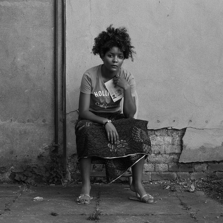 Agnes Essonti. Nyango con su kaolo. 2020 (1)