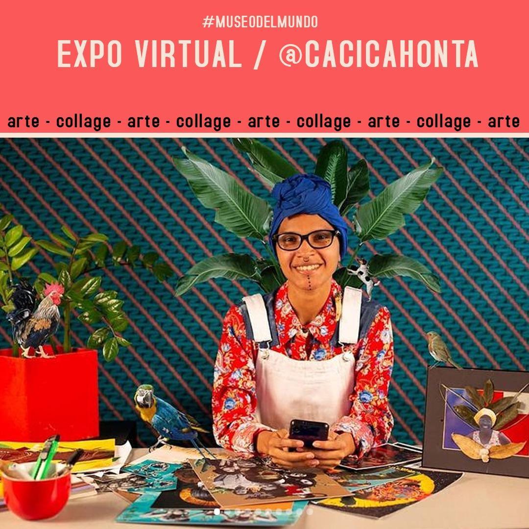 [Exposición virtual] Cacica Honta desde Venezuela