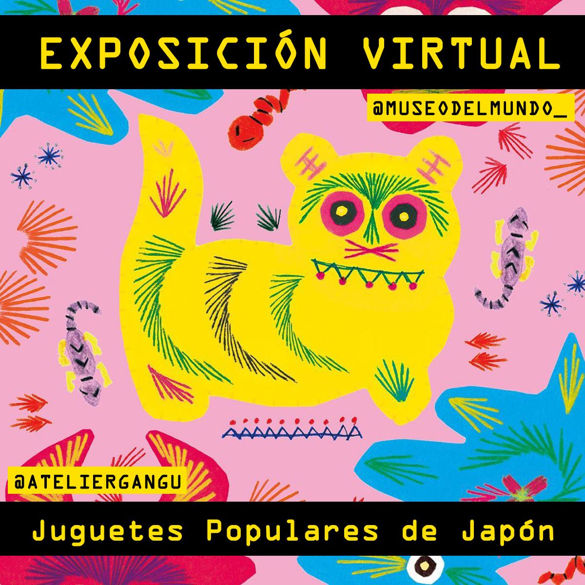 "[Exposición virtual] ""Atelier Gangu"" de Japón"