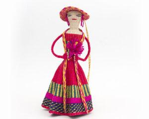 Mujer con flores #459